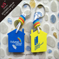 OEM factory GD new arrical eva production keychain manufacturers in china