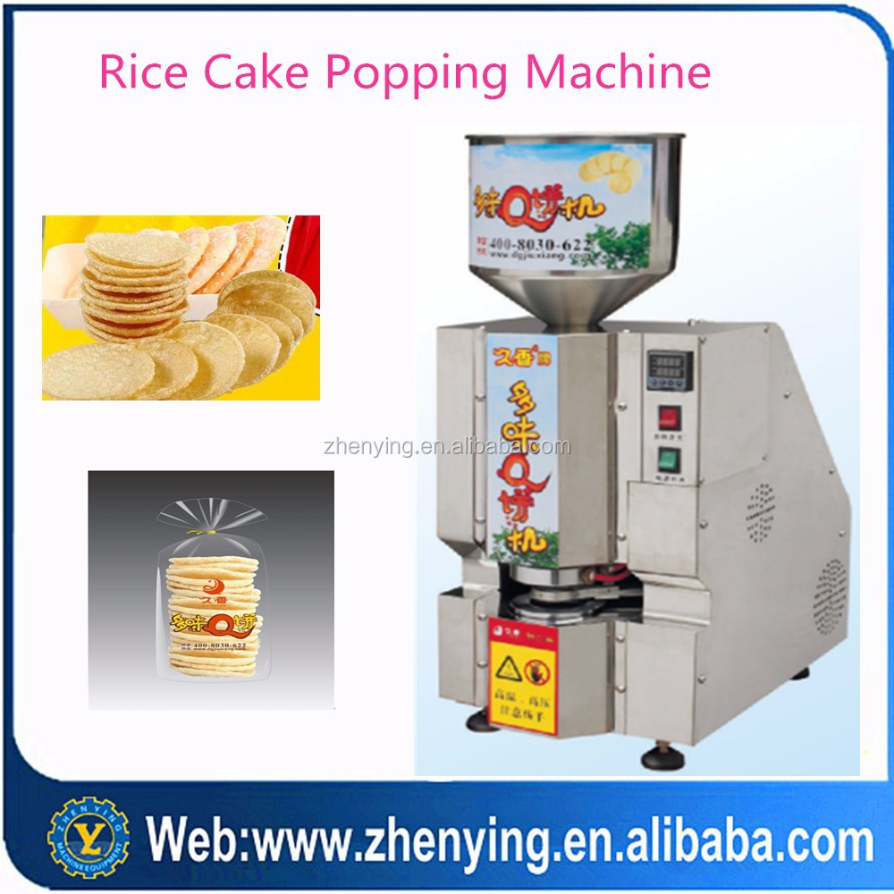 efficient chip rice cake making machine