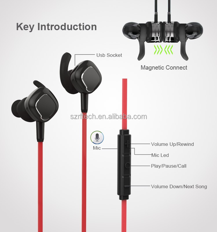 Mobile phone accessories newest bluetooth headsets for sport