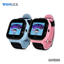Newest kids smart cell phone tracker watch GW500S kids gps watch with IP67 waterproof device
