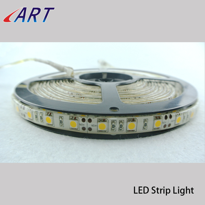 High brigtness 2700k 5050 smd led strip light with 3528 led strip light connector