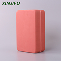 New style EVA yoga block 350g circular angle yoga brick high density hardness 50 for yoga exercise