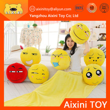 free sample emoji pillow custome slime toy plush for baby
