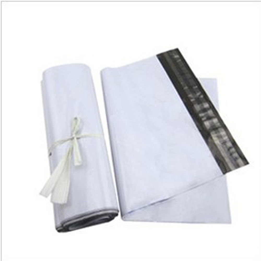 White color co-extrution mailer bag shipping envelope