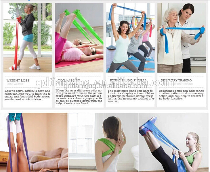 Custom Ballet bands Physical Exercise Resistance band