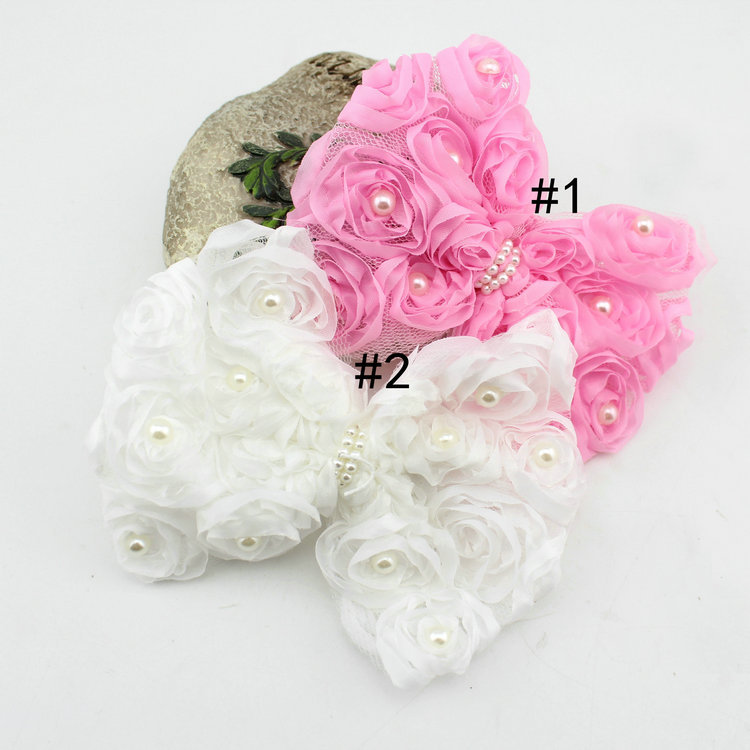 China Hair Accessory Manufacturers Princess Hair Bow Handmade Hairpin