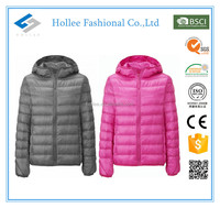 custom ultralight nylon winter jacket men winter jacket