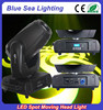 Professional gobo moving head flight case packing 200w led moving head