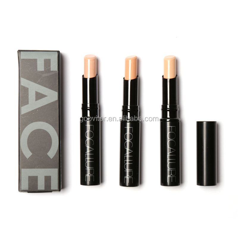 Professional Smoother Face Makeup Concealer Stick Glitter Foundation Cosmetic