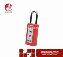 Loto Lockout Industrial Safety Padlock plastic lock and key toy