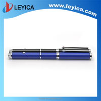 Wireless red laser pointer with sapphire ball pen