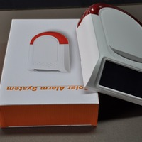 Wireless Solar Power Strobe Siren Alarm