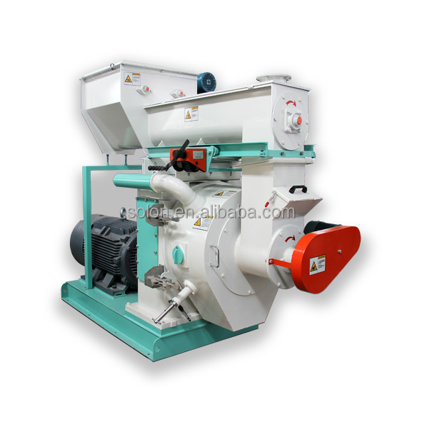 Hot Sale Biomass Wood/Rice Husk/Coconut Fiber/ EFB Pellet Machine Made In China Athena SOLON