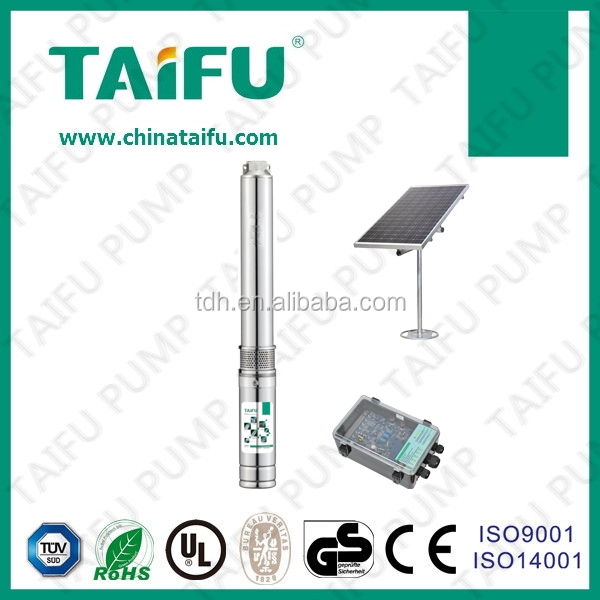 TAIFU plastic impeller DC motor solar small cheap 24v pumping water 3TSC2.2-12-24/120