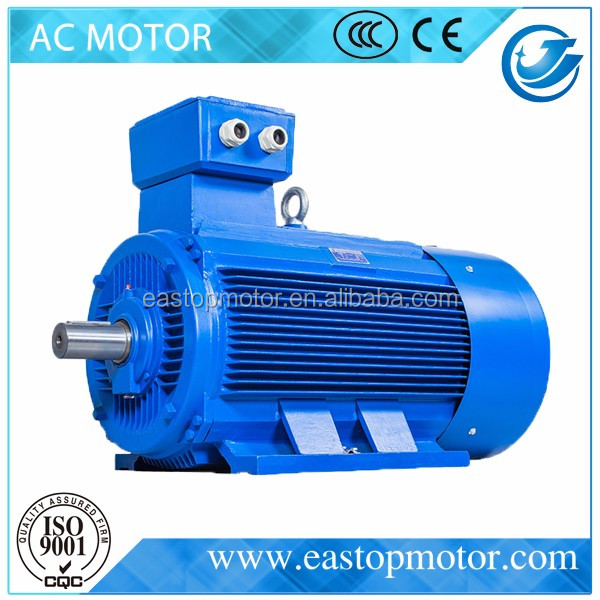 CE Approved Y3 electric water pump motor winding for power plants with aluminum housing