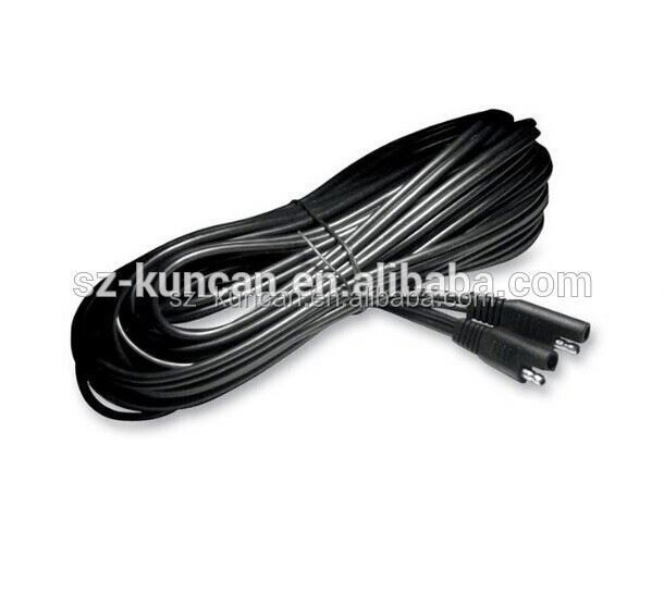 12v car battery terminal connectors Auto Battery Charging Cable with Alligator clips and SAE plug