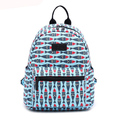 Latest Printing Canvas School Girls Shoulder Backpack New Style Fashion College Bags Purchase