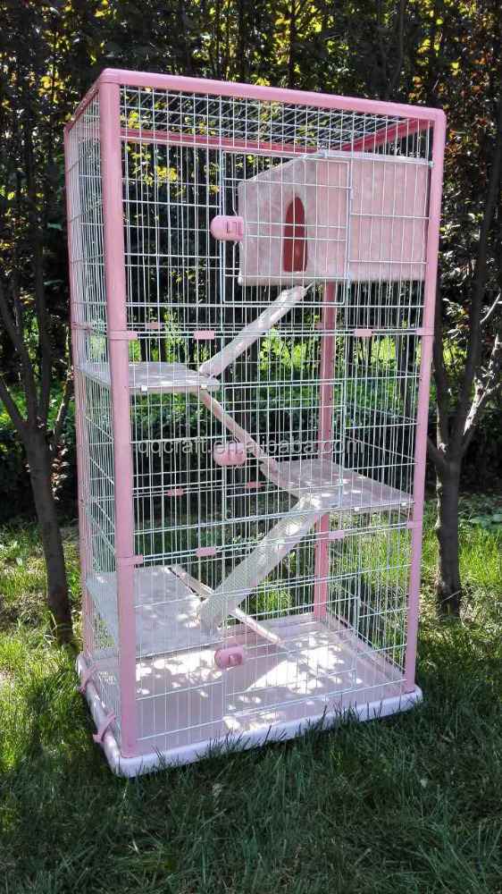 Wholesale china cheap stainless steel pet cat cage