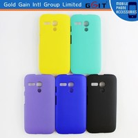 Rubberized Hybrid PC Hard Case for Motorola G, for Motorola G XT1032 Hybrid PC Case
