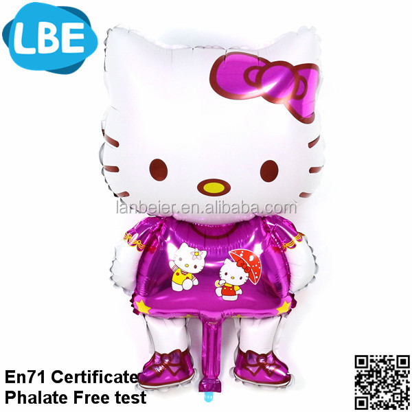 customized cartoon character hello kitty balloons
