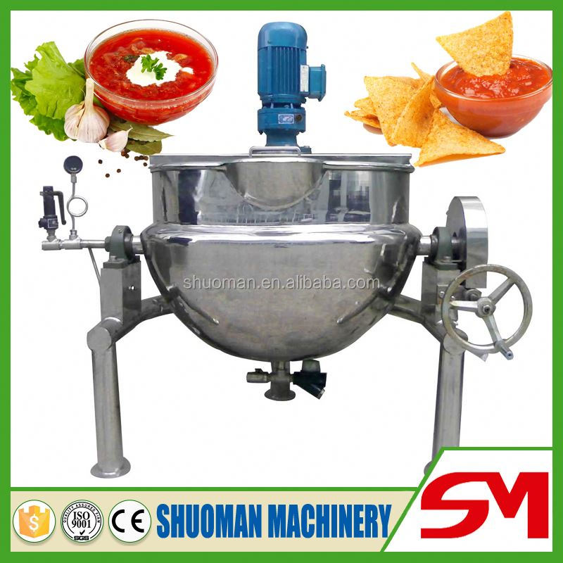 Professional CE approved industrial steam cooking pot