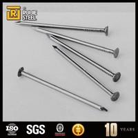 Checked head common round iron wire nails