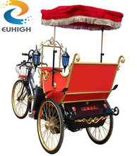 Safe 3 wheel electric bicycle /cycle rickshaws for sale
