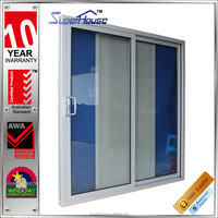 Strong and durable aluminum insulated double glazed main door designs home