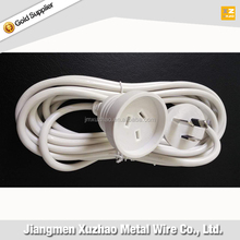 SAA approve 3-pin Electrical plugs and sockets extension cord flat plug for Australia