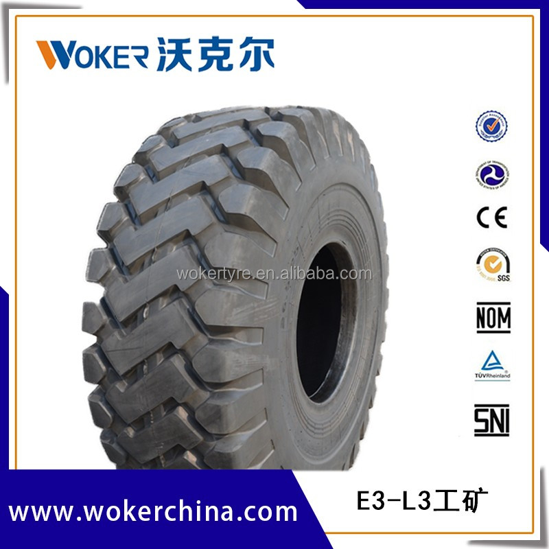 L3 E3 wholesale wheel loader and dozer tire for sale 26.5-25