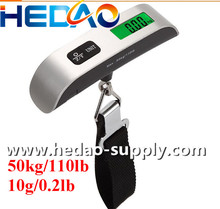 Backlight LCD Display Luggage Scale / balance scale for luggage