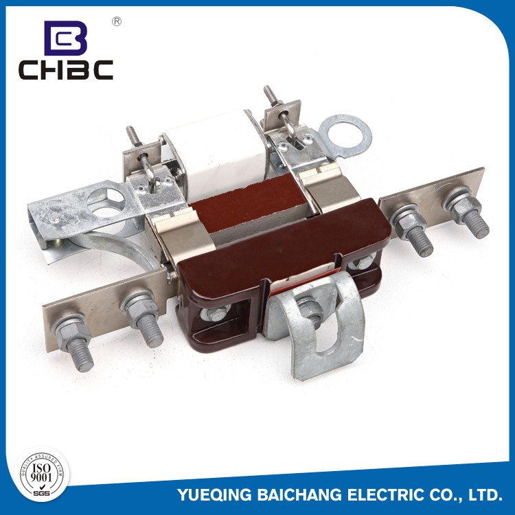 CHBC ISO9001:2008 Certificated Kinds Of Porcelain Material Low Voltage Fuse Block