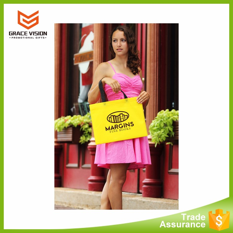 Custom Cheap Promotional Reusable Non Woven Foldable Shopping Bag
