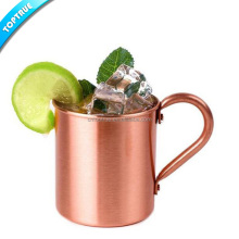 High quality solid stainless mug for moscow mule copper drinking beer mug