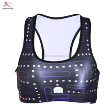 Hot sale breathable and quick dry gym fitness wear sports bra for women