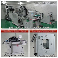 PET PVC Sticker Label Screen Printing Machine LTA-460