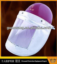 CE EN397 Industrial Safety Helmet With Clear Visor/Welding Face Mask Face Protection