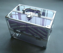 transparent acrylic cosmetic beauty case CS876 display case