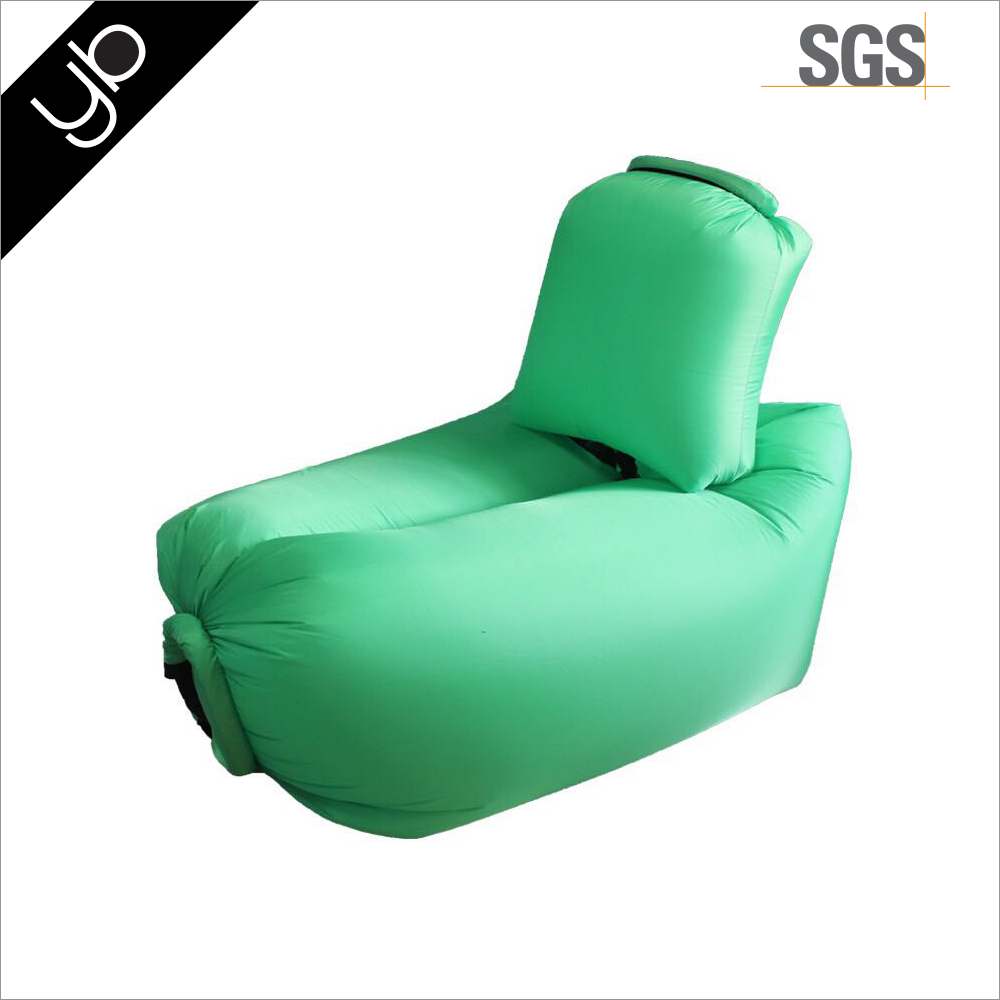 Hot selling Outdoor beach camping colorful hangout air sofa bed inflatable air chair for sleeping