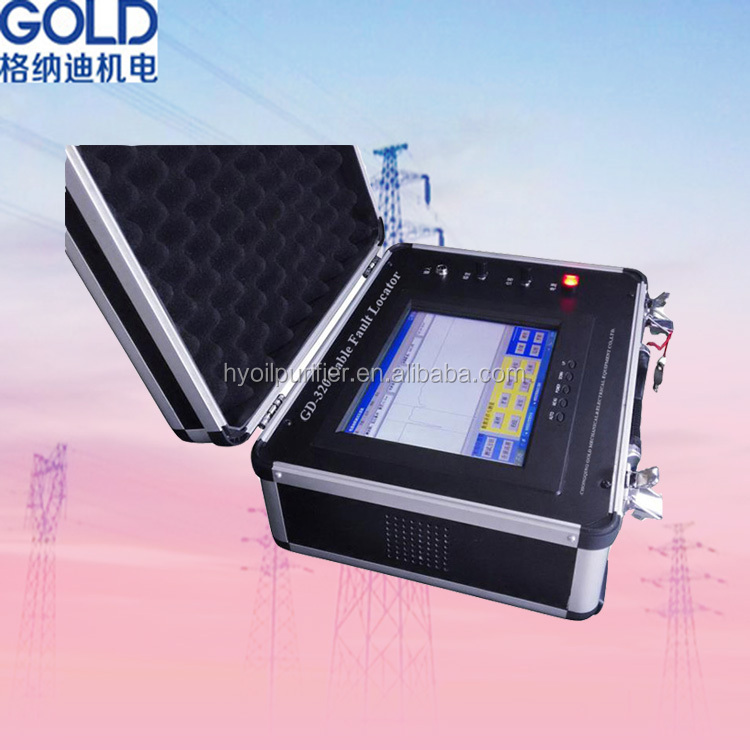 GD-320 TDR Method Underground Power Cable Fault Locator