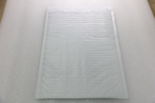 Plastic shipping envelope courier 10cm-60cm pearl white film bubble mailer