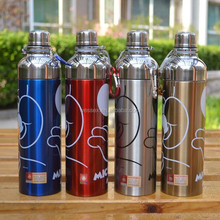 Stainless Steel Water Bottle 500ml Metal Flask Canteen Drinks
