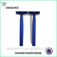 Double blades and stainless steel shaving razors
