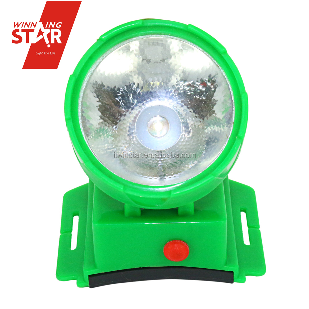 best quality cheap led headlamp dry battery1led AA battery led headlamp