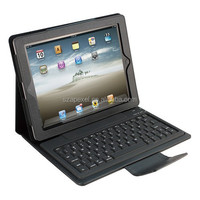 Wireless Bluetooth Silicone Keyboard with Flip Cover CE FCC RoHS for ipad2 /3 /4 BK-18