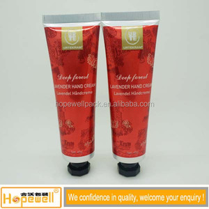 Guangzhou good quality laminated aluminum plastic tube cosmetic package