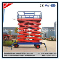 Widely Used Maintenance Warehouse Hydraulic Scissor Cargo Lift