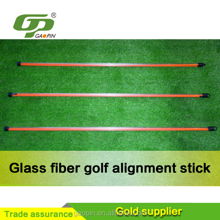 Cheap novelty glass fiber golf alignment stick for sale