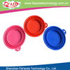 100% Food Grade Silicone Folding Dog Water Bowl