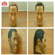 basketball famous star vinyl doll heads and hands
